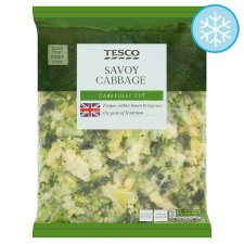 Tesco Shredded Savoy Cabbage 750G