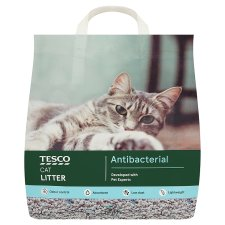 Tesco Odour Control Antibacterial Cat Litter 10L