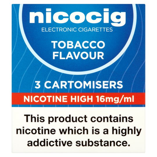 Nicolites Electronic Cigarette Refills High