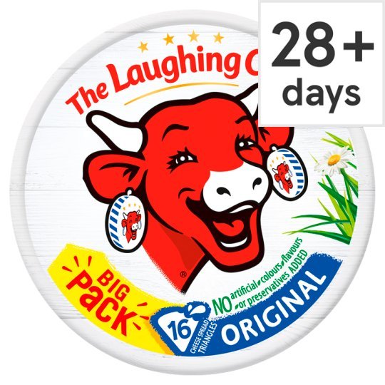 The Laughing Cow Original Cheese Triangles 280 G