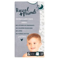 Rascal & Friends Nappy Pants Size 6 32Pack