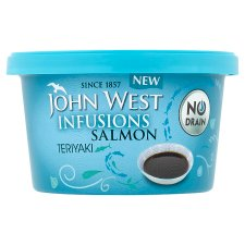 John West Infusions Salmon Teriyaki 80G