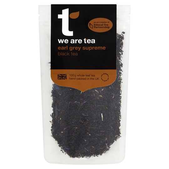 We Are Tea Earl Grey Black Tea Loose 100G