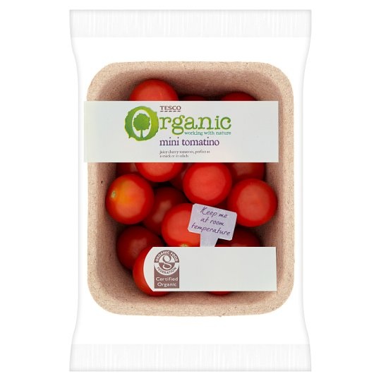 image 1 of Tesco Organic Mini Tomatino 225G