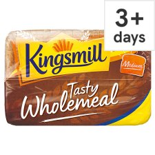 Kingsmill Tasty Wholemeal Medium Bread 800G