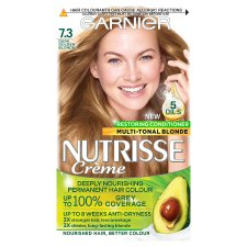Garnier Nutrisse 7.3 Golden Copper Permanent Hair Dye