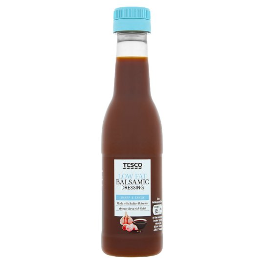 Tesco Low Fat Balsamic Dressing 250Ml
