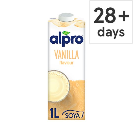 Alpro Soya Vanilla Longlife Milk Alternative 1 Litre
