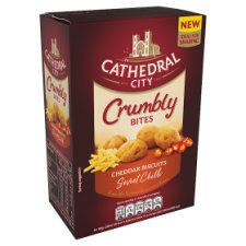 Cathedral City Crumbly Bites Cheddar And Sweet Chilli 100G
