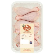 Willow Farms Chicken Drumsticks 750G