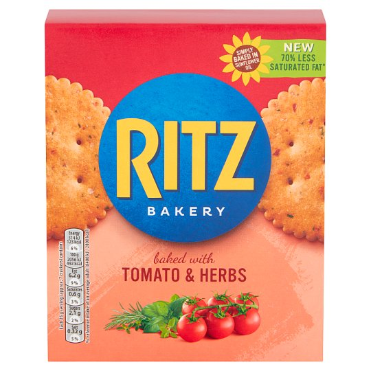 Ritz Baked With Tomato And Herb 175G