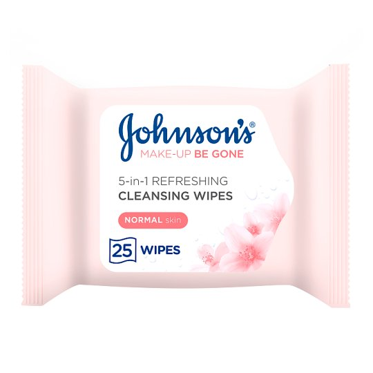 Johnson's Face Care Refreshing Wipes 25