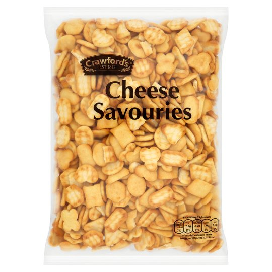 image 1 of Crawford's Cheese Savouries 325G