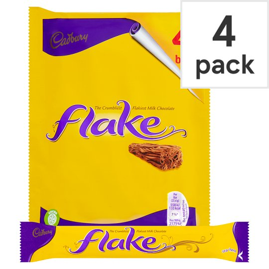 image 1 of Cadbury Flake Chocolate Multipack 4 X25.6G