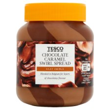 Tesco Caramel And Chocolate Spread 400G