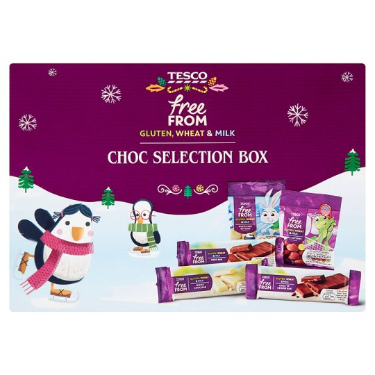 Tesco Freefrom Chocolate Selection Box 150G