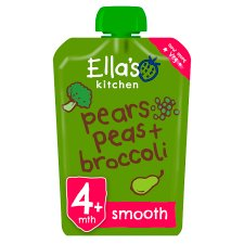 Ella's Kitchen Broccoli Pear & Peas Puree 120G