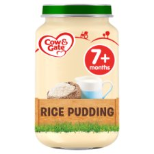 Cow & Gate Rice Pudding Jar 200G 7 Mth+