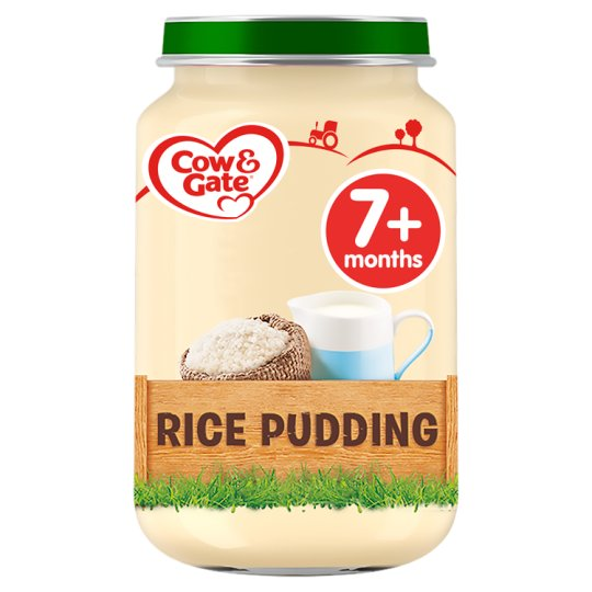 image 1 of Cow And Gate Rice Pudding Jar 200G 7 Mth+