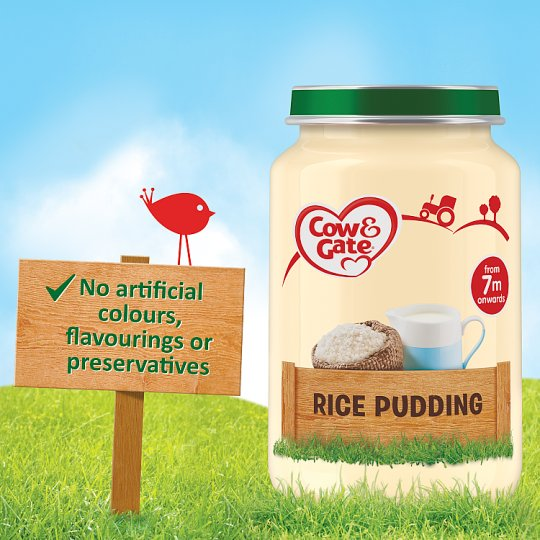 Cow And Gate Rice Pudding Jar 200G 7 Mth+