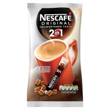 Nescafe Original 2 In 1 Instant Coffee 5 Sachets 50G