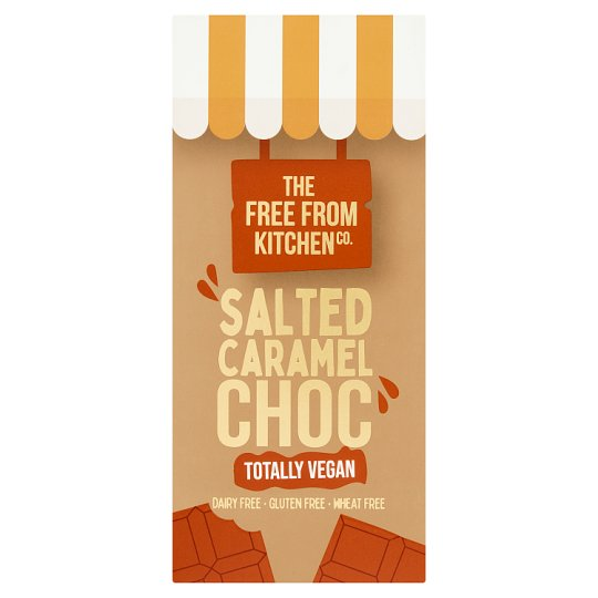 The Free From Kitchen Co. Salted Caramel Chocolate Slab 100G