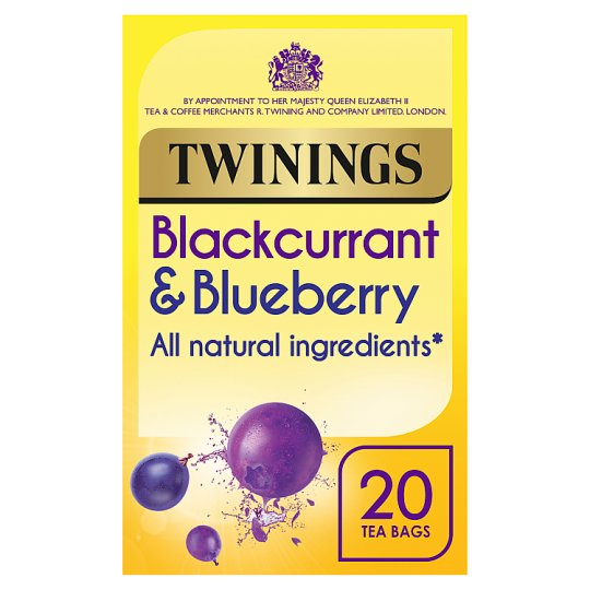 Twinings Blackcurrant And Blueberry 20 Tea Bags 40G