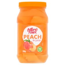 Natures Finest Juicy Peach In Juice 700G