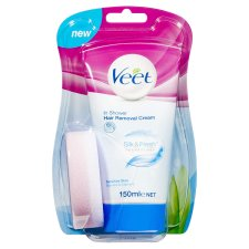 Veet In Shower Cream Sensitive 150Ml