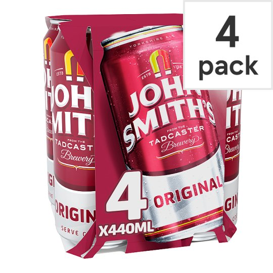 John Smiths Bitter 4X440ml Cans
