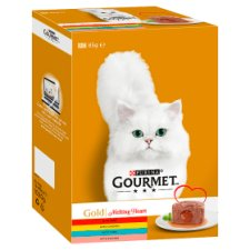 Gourmet Gold Melting Heart Cat Food 12X85g