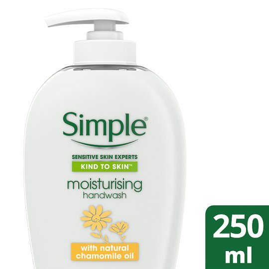 Simple Kind To Skin Moisturising Handwash 250Ml