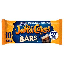 Mcvities Jaffa Cake Bars 10 Pack