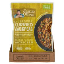 image 2 of Jamie Oliver Curried Chickpeas 250G