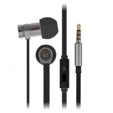 Kitsound Nova In Ear Black W/Mic