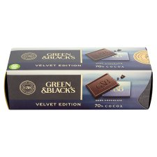 Green And Blacks Velvet Ed 70% Cocoa 200G
