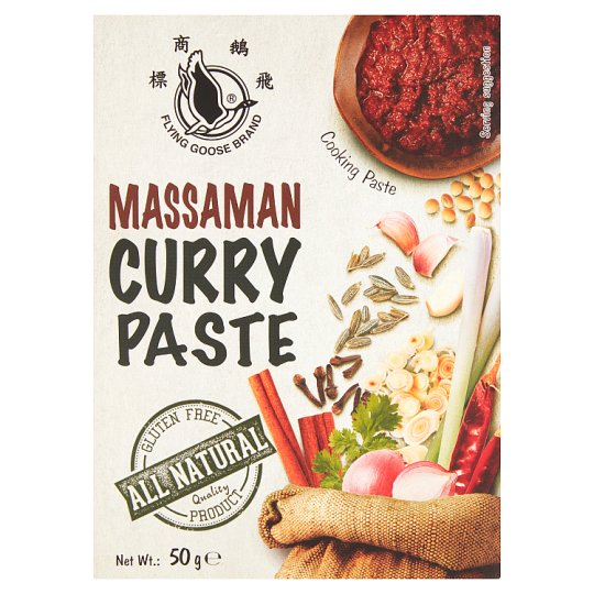 Flying Goose All Natural Massaman Curry Paste 50G