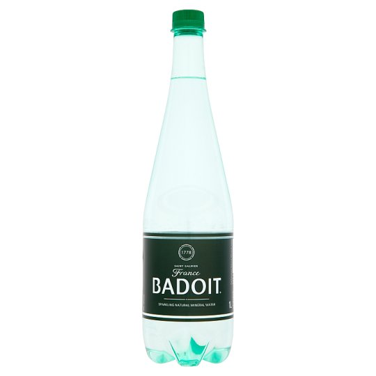 Badoit Lightly Sparkling Natural Mineral Water 1L