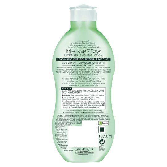 Garnier Body Intensive 7D Shea 250Ml