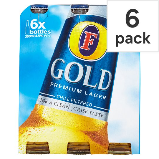 Fosters Gold 6X300ml