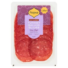 Najma Spanish Turkey Salami 80G