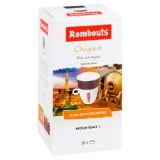 Rombouts Original One-Cup Filter Coffee 10 Pack 62G