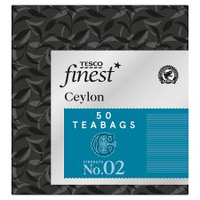 Tesco Finest Ceylon 50 Tea Bags 125G