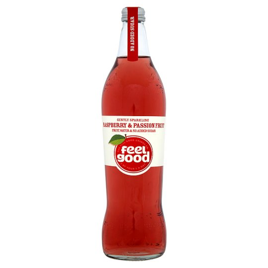 Feel Good Drinks Raspberry And Passion Fruit Drink 750 Ml