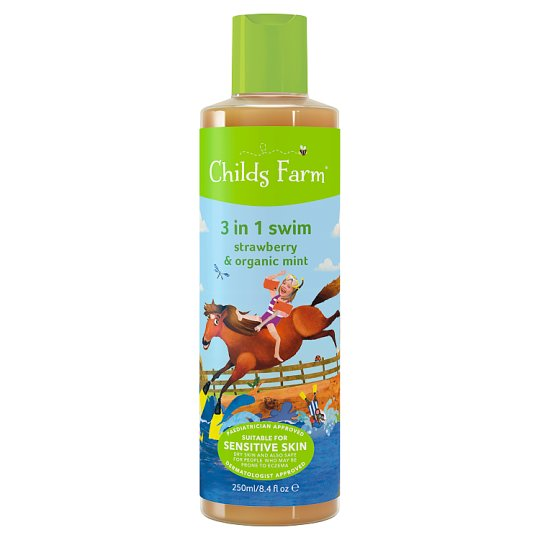 Childs Farm Strawberry And Mint Wash 3In1 250Ml