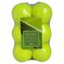 Tesco 12 Tennis Balls