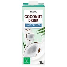 Tesco Coconut Drink Sweetened 1Ltr