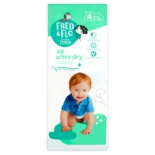 Fred And Flo Ultra Dry Size 4 Nappies 48 Pack
