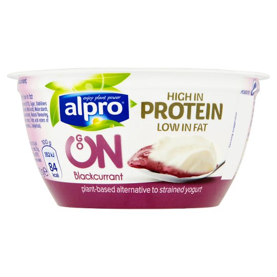 Alpro Go On Blackcurrant Yogurt Alternative 150G