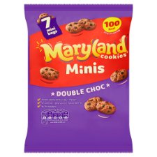 Maryland Mini Cookies Double Chocolate 7X19.8G